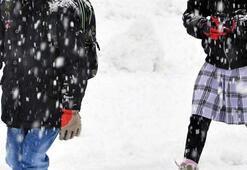 Son dakika | Eğitime kar engeli Okullar tatil edildi...