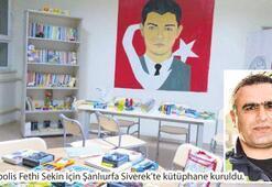 Fethi Sekin, Eren Bülbül, Aybüke Yalçın, Alper Kocaman... Şehitlerin adına kütüphane