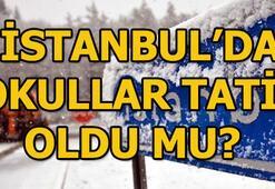 İstanbulda okullar tatil mi 25 Şubat Pazartesi İstanbul Valiliği açıkladı...