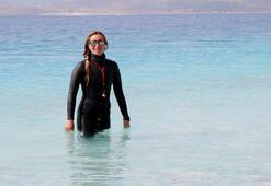 Şahika Ercümen yeni rekor için Salda Gölüne girecek