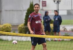 Trabzonsporlu Pereiraya esnaftan jest
