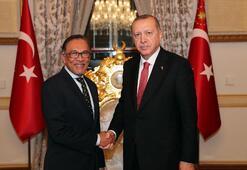 Erdoğan, Malezya Halkın Adaleti Partisi Başkanını kabul etti