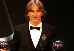 FIFA Yılın En İyi Erkek Futbolcusu Ödülünü Modric kazandı