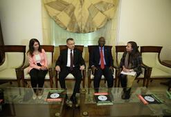 Cumhurbaşkanı Yardımcısı Oktay, Ekvator Ginesinde