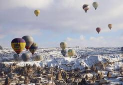 Kapadokyanın balonları 537 bin turisti uçurdu