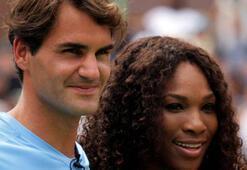 Federerin rakibi Serena