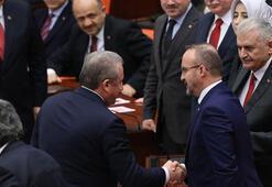 AK Partiden Bahçeliye Şentop teşekkürü