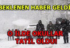 İstanbulda okullar tatil oldu mu Son dakika okullar tatil açıklaması...