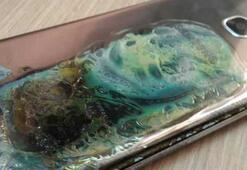 Galaxy Note 7nin ardından şimdi de Samsung Galaxy S7 Edge alev aldı