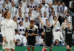 Real Madrid-Ajax: 1-4