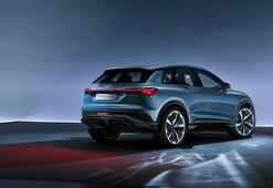 Audi Q4 E-tron konseptini görücüye çıkardı