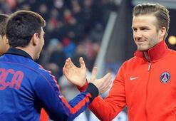 Beckham'ın Messi rüyası