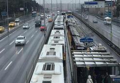 Bahçelievlerde metrobüs kazası