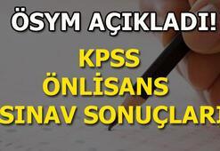 ÖSYM KPSS sonuçları sorgulama sayfası KPSS önlisans sonuçları