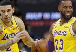 Los Angeles Lakersta çifte triple double