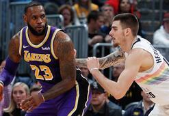 Nuggets, Lakersı sahadan sildi