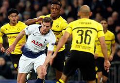 Tottenham, Devler Liginde Dortmunda acımadı