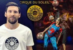 Cirque du Soleilden Lionel Messi gösterisi