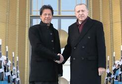 Erdoğan, Pakistan Başbakanı Han'ı kabul etti: Dayanışmamız devam edecek