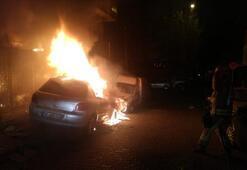 Son dakika: Mahallede panik Alev alev yandı