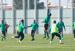 Bursasporda MKE Ankaragücü maçı hazırlıkları