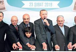 Erdoğan İstanbul'da konuştu: CHP'nin işi hep engellemek