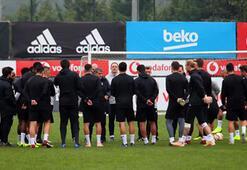 Beşiktaşta 5 oyuncu Alanya kafilesinde yok