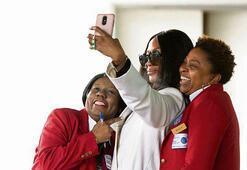 Havalimanı selfie'si