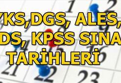 2019 YKS, DGS, ALES, YDS KPSS sınav ve başvuru tarihleri...