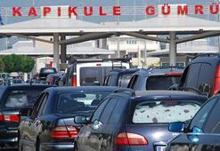 Yolcular en çok Sarpı, araçlar Kapıkuleyi kullandı