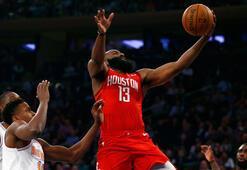 James Hardendan Knicks potasına 61 sayı