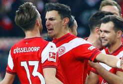 Fortuna Düsseldorfu Kaan Ayhan sırtladı