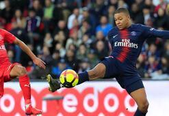 PSG 3 puanı 3 golle aldı Kylian Mbappe...