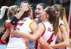 CSM Targoviste - Galatasaray HDI Sigorta: 0-3