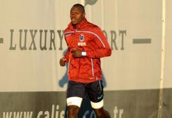 Trabzonsporda Toure takımla çalıştı