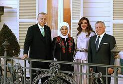 Emine Erdoğandan Ürdün Kralının ziyaretine ilişkin paylaşım