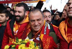 Boluda Galatasaray izdihamı