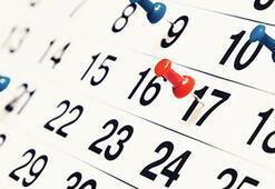 2019da kaç gün tatil yapacağız 2019 Resmi tatiller