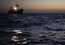Akdenizdeki yük gemisinde 6 ton esrar ele geçirildi