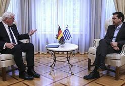 Çipras-Steinmeier görüşmesine savaş tazminatı gölgesi