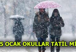 Van, Hakkari, Bitlisde bugün okullar tatil mi