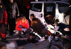 Adanada otobüs ile cip çarpıştı Ölüler ve yaralılar var