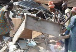 Nijeryada çöken okul kaçak çıktı
