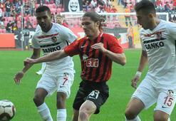 Eskişehirspor - Gazişehir Gaziantep: 0-0