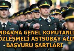 Jandarma Genel Komutanlığı sözleşmeli astsubay alımı başvuru şartları neler