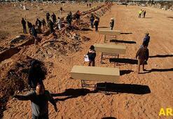 Gizli mezarlarda 50 ceset bulundu