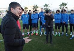 Başkan Türelden Antalyaspora ziyaret