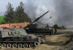 Son dakika: TSK Tel Rıfattaki YPG/PKKlı teröristleri vurdu