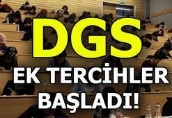 2018 DGS ek yerleştirme tercihi nasıl yapılır DGS EK yerleştirme tercih tarihleri