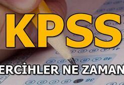 KPSS tercihleri için tarih açıklandı mı KPSS 2018 tercihleri ne zaman